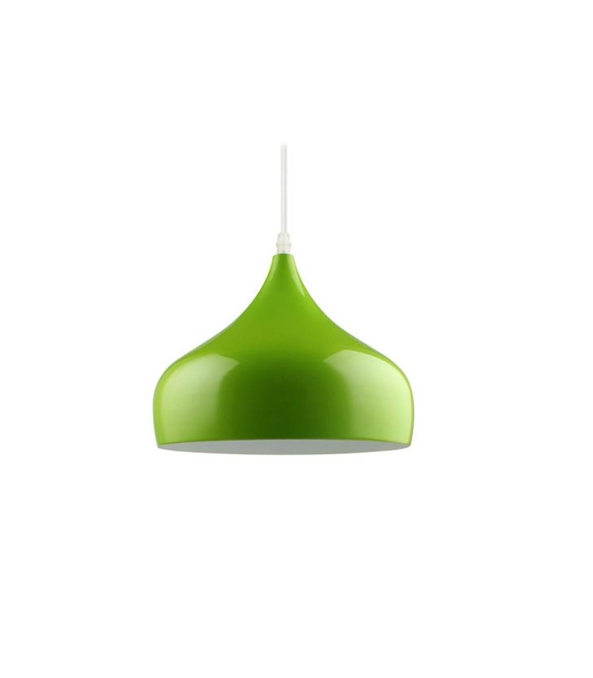 Modern industrial lampara led pendant light green cl001gn aloadofball Images